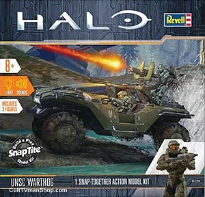 HALO UNSC Warthog 1:32 from Revell