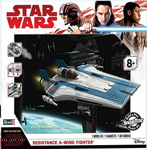 Resistance A-Wing Fighter - The Last Jedi from Revell