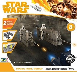 Imperial Patrol Speeder 1:28 - Solo from Revell