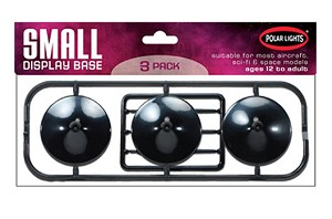 Small Dome Base 3-pack from Round 2/Polar Lights