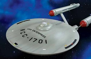 Enterprise SMOOTH Saucer 1:350 from Round 2