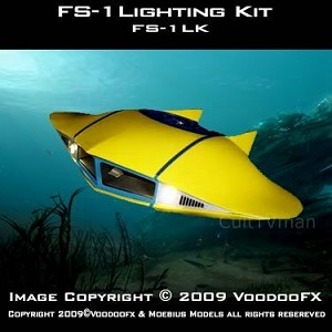 Flying Sub lighting 1:32 scale from VoodooFX