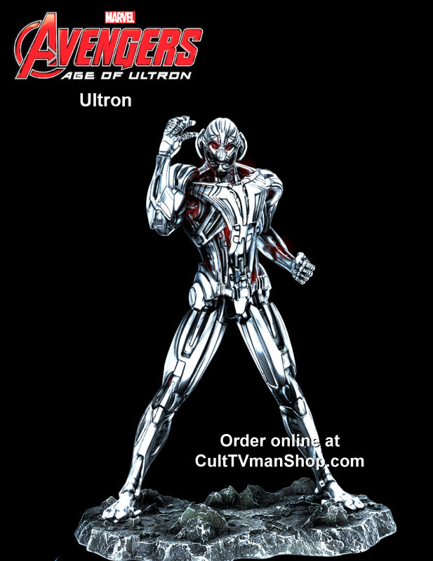 Ultron from Avengers Age of Ultron  - 1:9 scale prepainted kit from Dragon