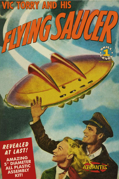 Vic Torrey and his Flying Saucer UFO from Atlantis