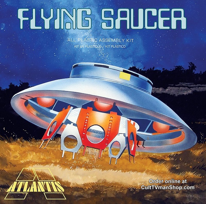 Flying Saucer box