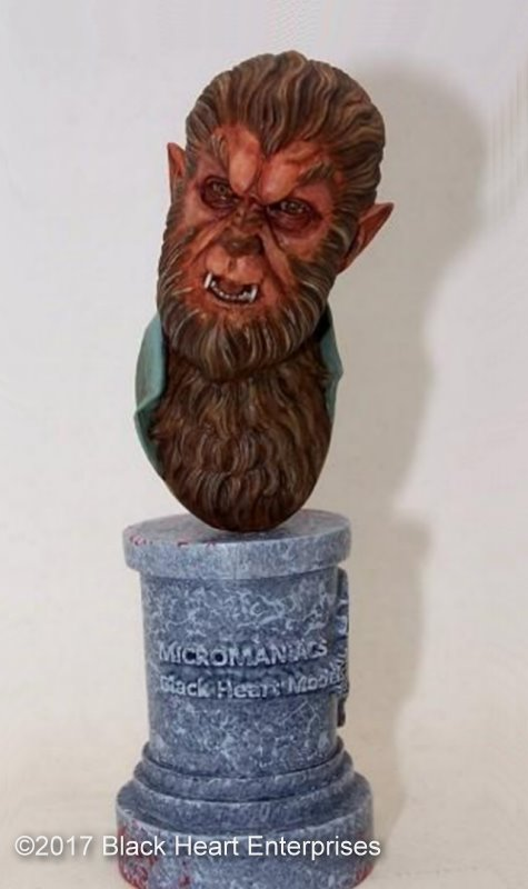 The Werewolf - MicroMania Bust from Black Heart