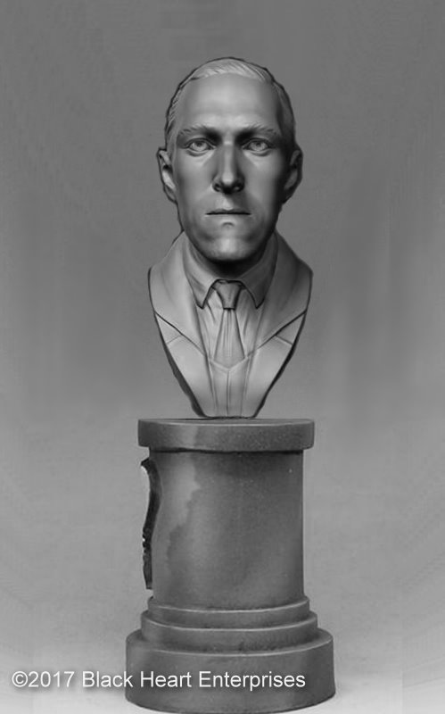H.P. Lovecraft - MicroMania Bust from Black Heart