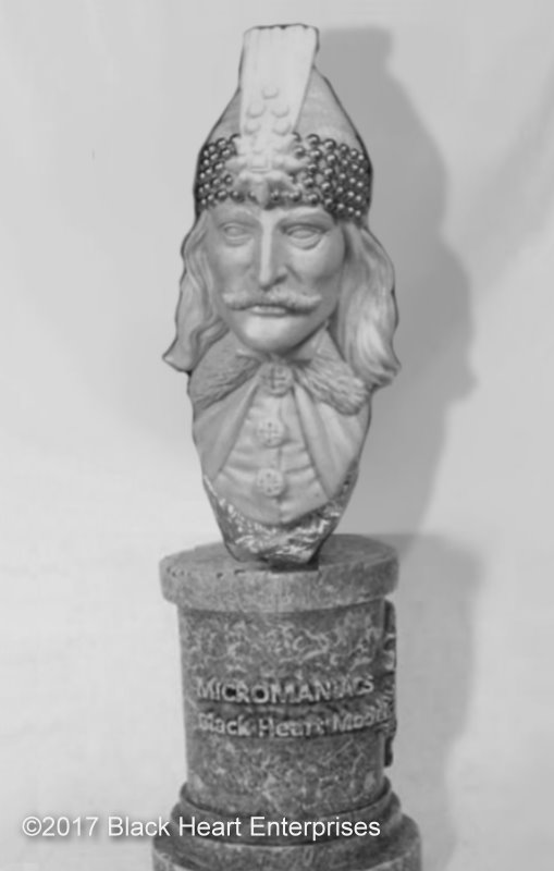 Vlad The Impaler Micromania Bust From Black Heart