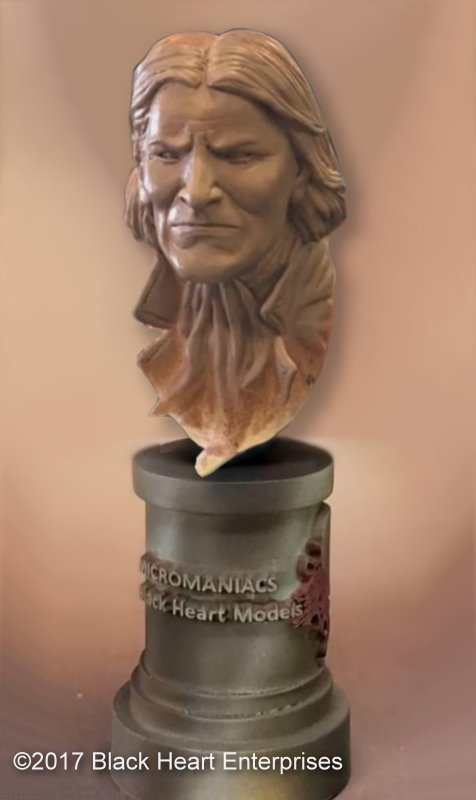 Geronimo  - MicroMania Bust from Black Heart