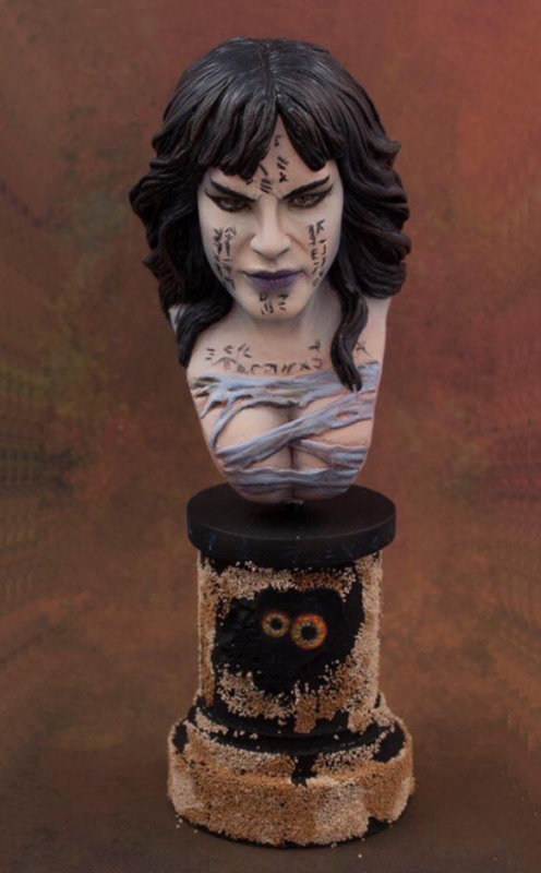 The Mummy Priestess - MicroMania Bust from Black Heart