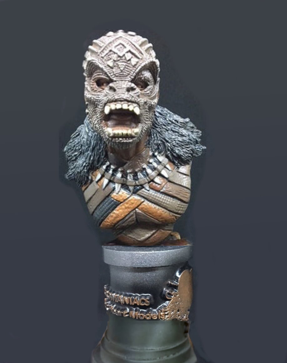 M'baku - MicroMania Bust from Black Heart
