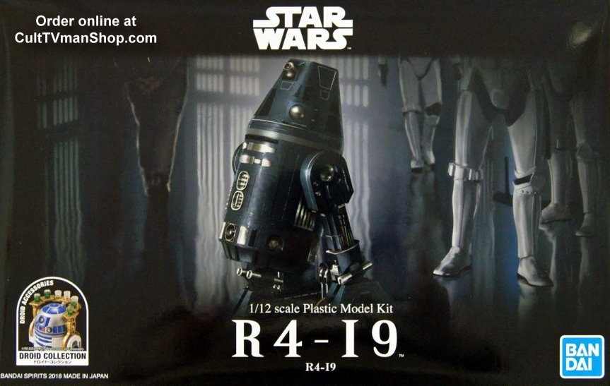 R4-I9 Droid Collection  1:12  from Bandai