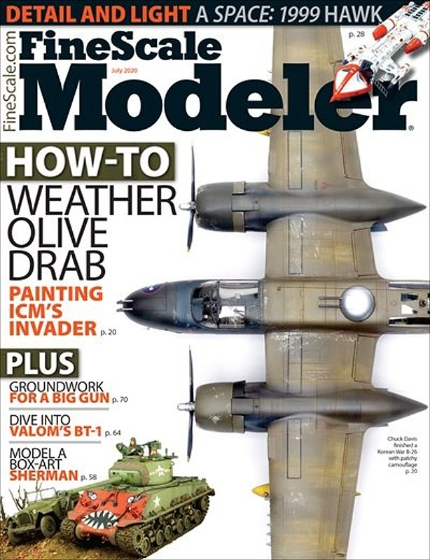 Fine Scale Modeler July 2020