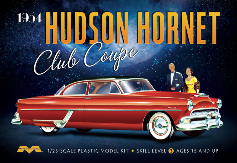 '54 Hudson Hornet Coupe 1:25 from Moebius Models