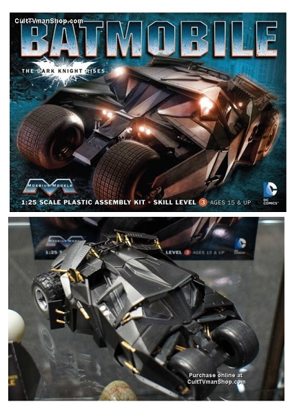 batman the dark knight rises tumbler 1 25 scale from moebius models