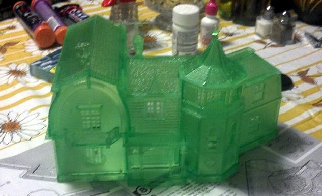 The Munsters House Culttvman Ghostly Green Edition From