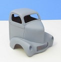 1941 Willys Cab over Cab 1:25 resin car body from Jimmy Flintstone