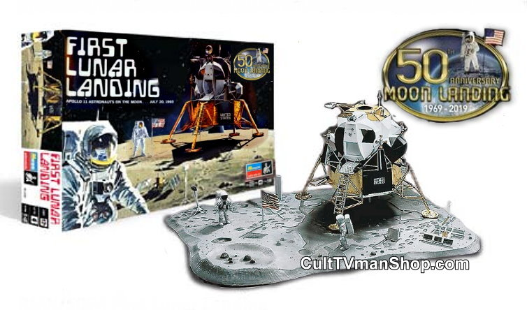 Apollo First Lunar Landing - 2019 reissue 1/48 scale from Revell-Monogram SCRATCH AND DENT