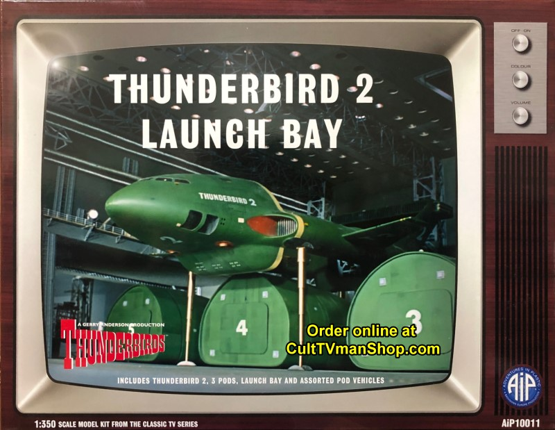 Thunderbird 2 Launch Bay - 1:350 scale from Adventures in Plastic/Aoshima