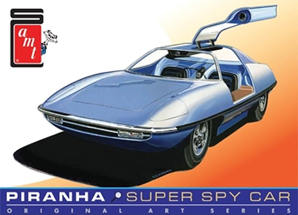 piranha super spy car  man from uncle  reissue from round 2  amt