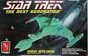 Klingon Vorcha Battle Cruiser from The Next Generation by AMT