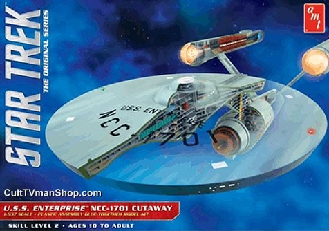 "Enterprise Cars For Sale >> Cutaway Enterprise 1:537 scale (22"") from Round 2/AMT"