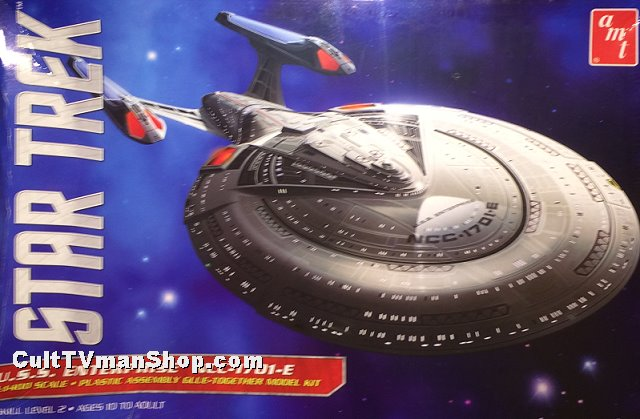 USS Enterprise-E 1:1400 reissue from AMt/Round 2