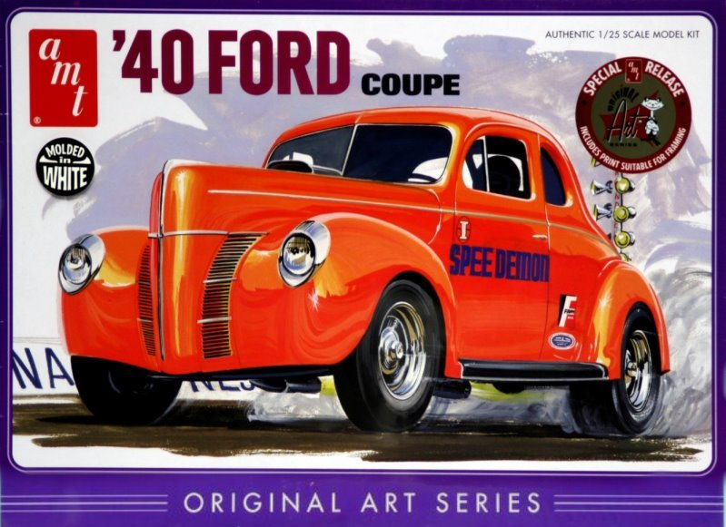 1940 Ford Coupe  1:25 from AMT/Round 2