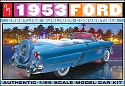 1953 Ford Crestline Sunliner Convertible 1:25 from AMT/Round 2