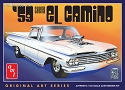 1959 Chevy El Camino  1:25 from AMT