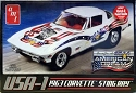 1963 USA-1 Corvette Stingray 1:25 from AMT/Round 2