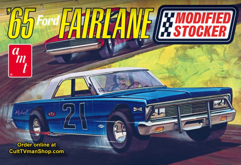 1965 Ford Fairlane Modified Stocker 1:25 from AMT/Round 2