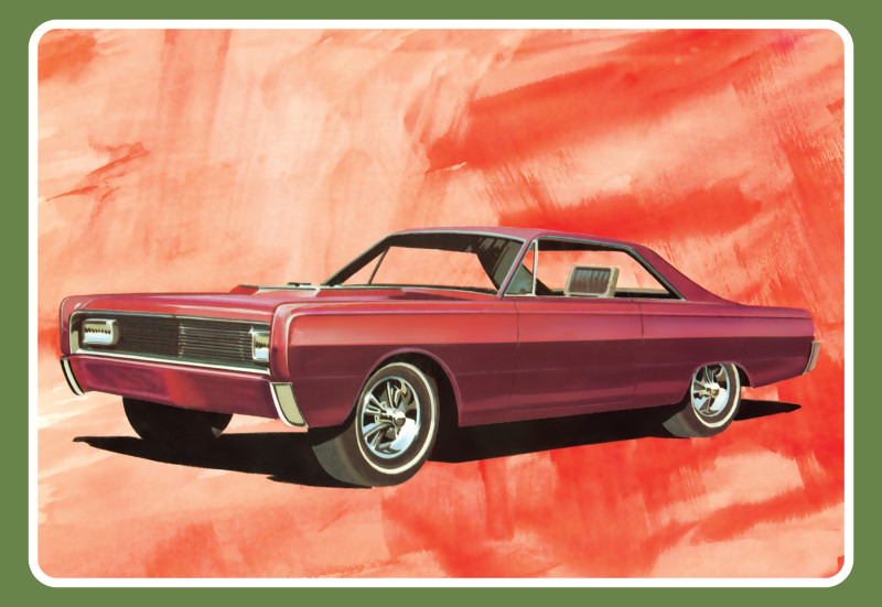 1966 Mercury Hardtop 1/25 Scale from AMT/Round 2