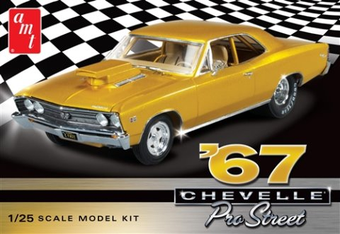 '67 Pro Street Chevy Chevelle  1:25 from AMT/Round 2