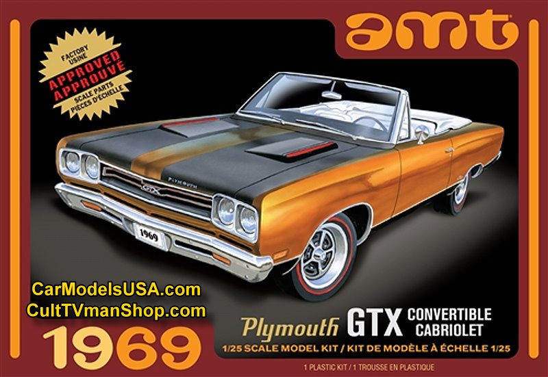 1969 Plymouth GTX Convertible 1:25  from Round 2/AMT