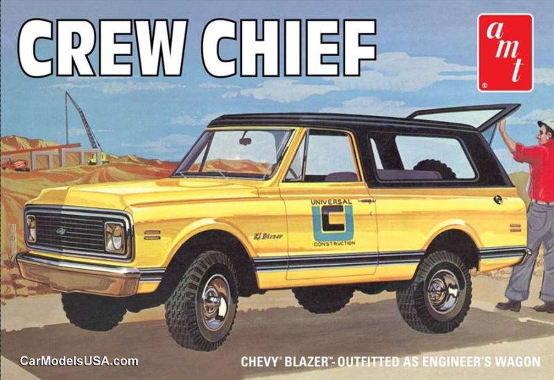 1972 Chevy Crew Chief Blazer 1:25 from AMT/Round 2