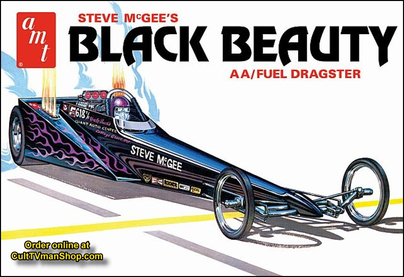 Steve McGee - Black Beauty Wedge Dragster 1:25 from Round 2/AMT