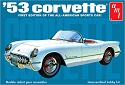 1953 Chevrolet Corvette 1:25 scale from AMT/Round 2