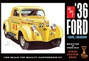 1936 Ford Coupe/Roadster 1:25 scale from AMT/Round 2