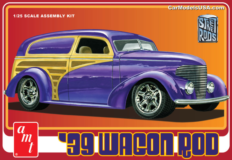 1939 Ford Wagon Rod  1:25 from AMT/Round 2