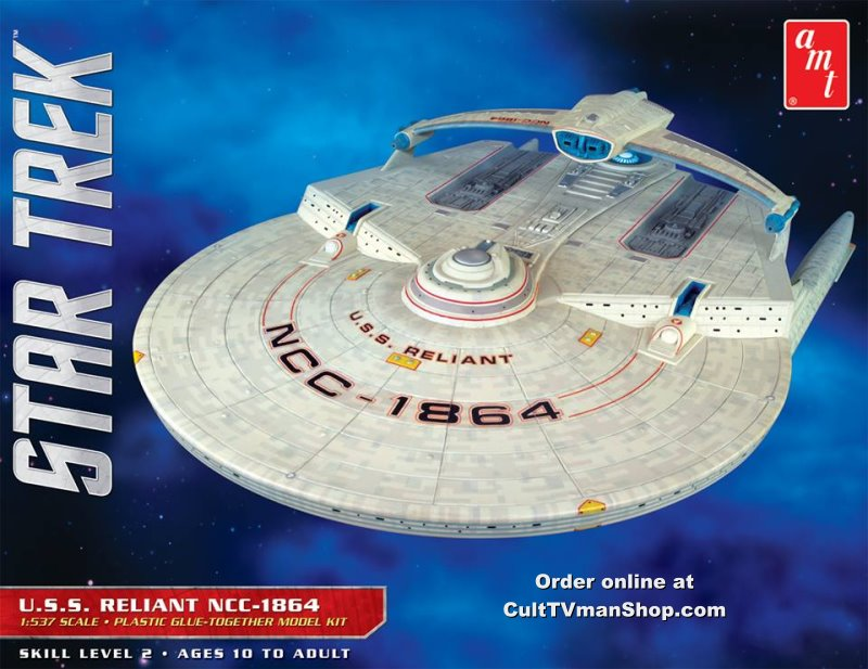 Enterprise Cars For Sale >> USS Reliant 1:537 scale reissue from AMT/Round 2