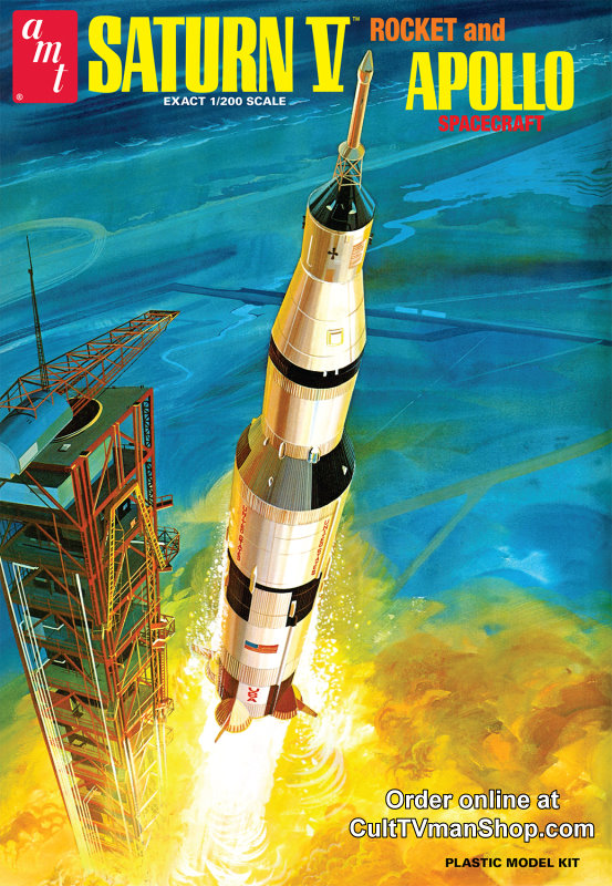 Saturn V rocket - 1:200 from AMT/Round 2 - PREORDER RESERVATION