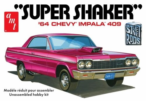 '64 Super Shaker Chevy Impala 409 1:25 from AMT/Round 2