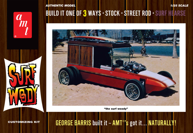 George Barris Surf Woody reissue from Round 2/AMT