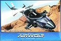 Airwolf 1:48 with Clear Body from Aoshima