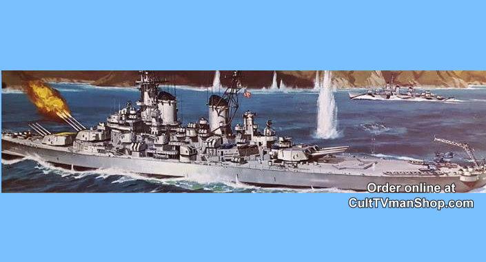 USS Wisconsin Battleship 1:535 scale - Revell reissue from Atlantis