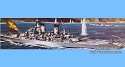 USS Wisconsin Battleship 1:535 scale - Revell reissue from Atlantis