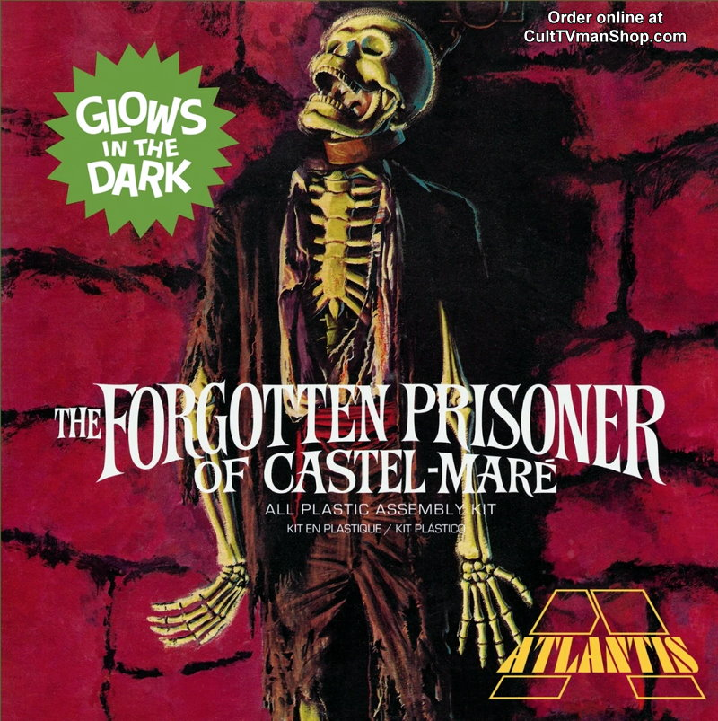 The Forgotten Prisoner of Castel Mare - Glow Square Box 1/8 Model Kit