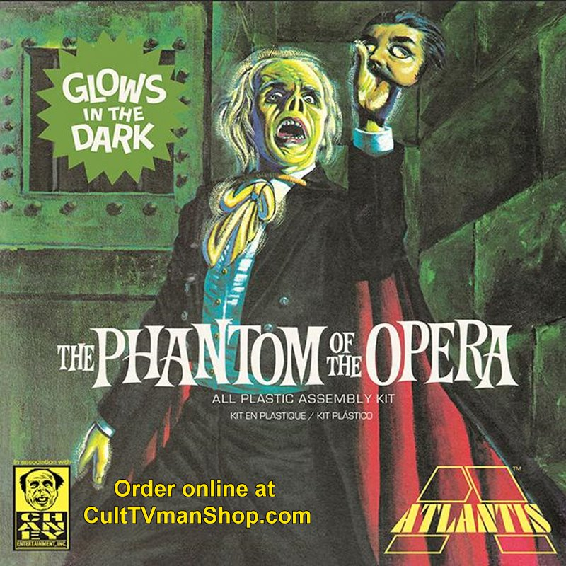 NEW: Glow Phantom of the Opera - Aurora reissue from Atlantis