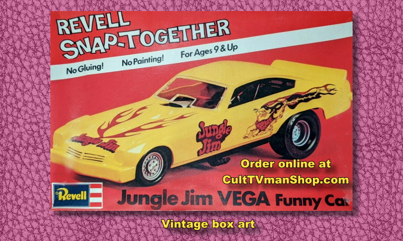 PREORDER Jungle Jim Vega Funny Car -  1:32 scale - Revell reissue from Atlantis - $14.99 - PREORDER RESERVATION